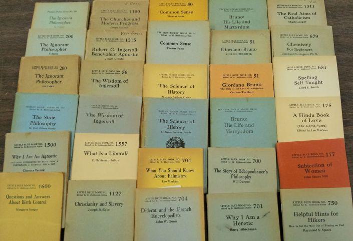 little blue book series